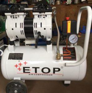 Máy nén khí etop không dầu 30 lít